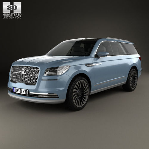 2016 Lincoln Cars: 3D Model Lincoln Navigator Concept 2016