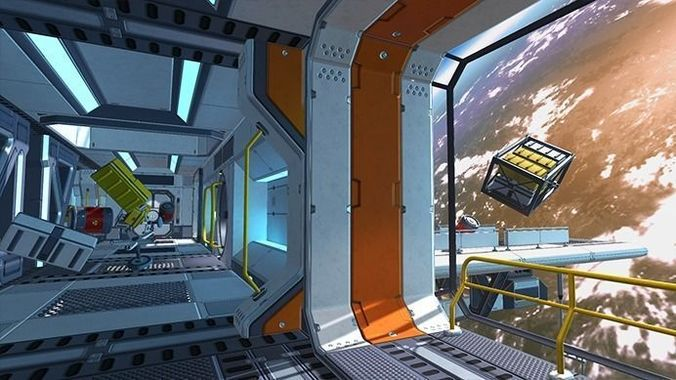 scifi kit vol 3 3d model unitypackage prefab 1