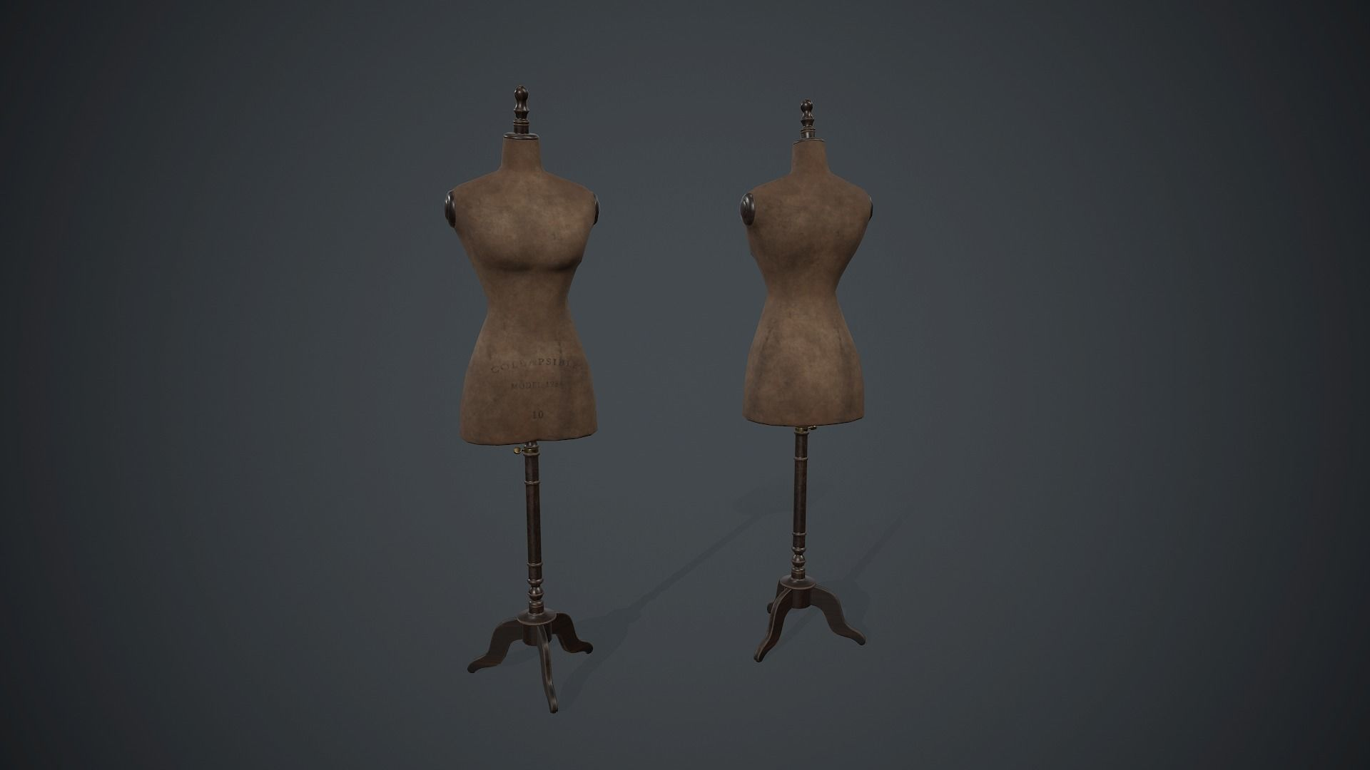 Old Mannequin PBR Game Ready