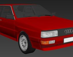 3D model Audi B2 urQuattro