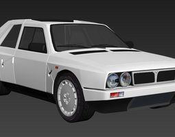 Lancia Delta S4 3D model