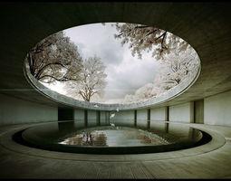 Tadao Ando -Naoshima Art Museum - The Third and animated 4