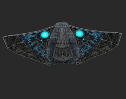 game-ready Sapaceship 3D Model