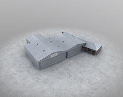 3D model EGCC Signature Hangar