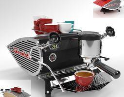 Kees van der Westen Coffee Machine Speedster Blender 3D