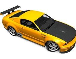 3D model GT-R Car