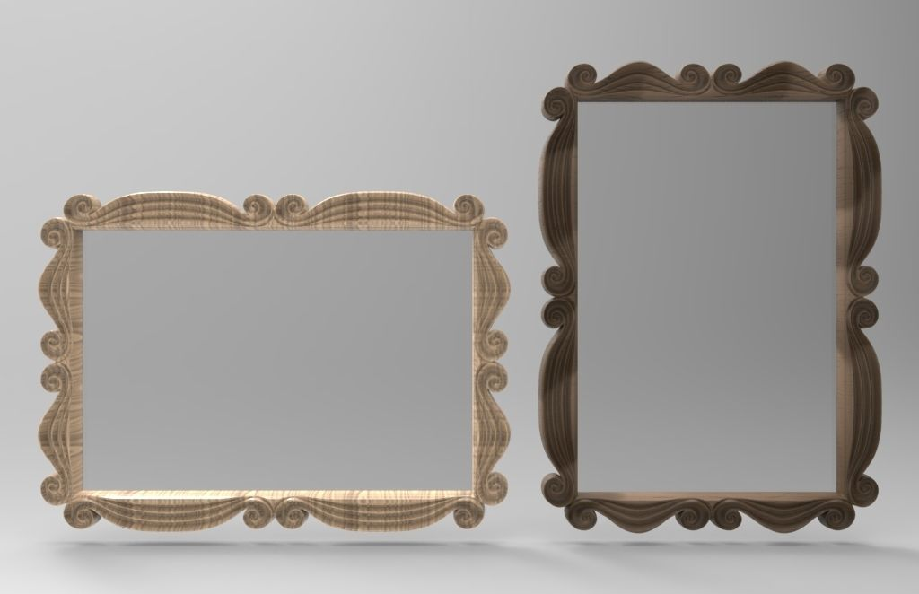 SWIRL - PICTURE or MIRROR FRAME