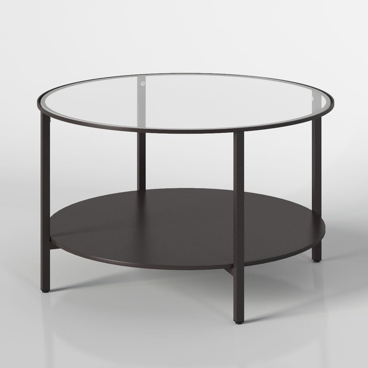 Ikea Vittsjo Coffee Table 3d Model Max Obj 3ds Fbx Mtl Mat 2