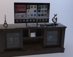 3D ENTERTAINMENT STAND