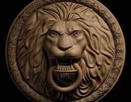 leo face 3D model