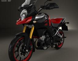 Suzuki V-Strom 1000 2013 3D