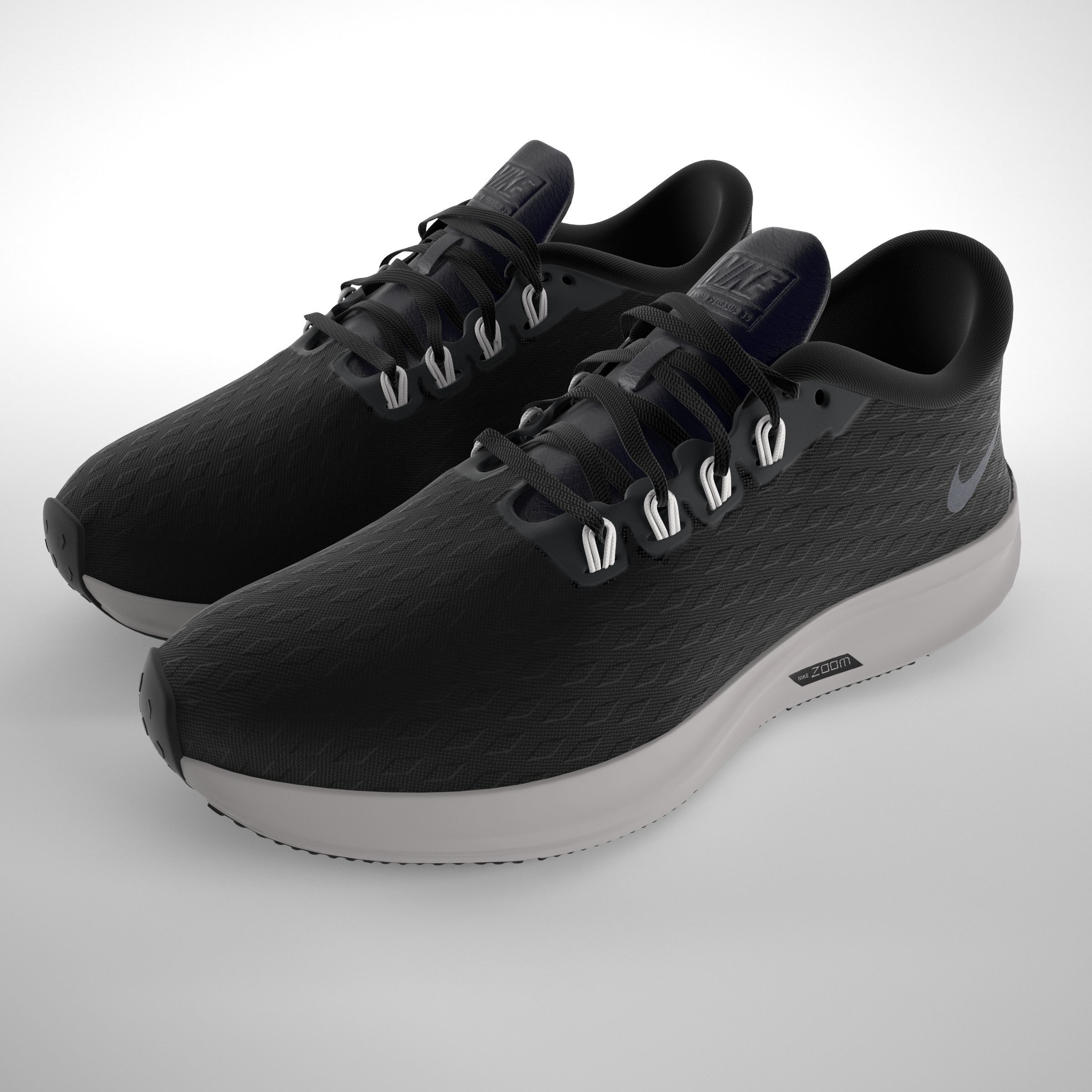 Conception innovante eae0c ba836 Nike Air Zoom Pegasus 35 PBR | 3D model