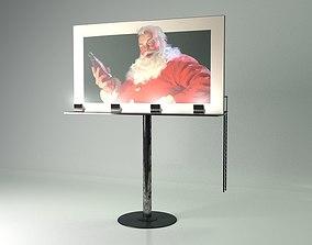 Billboard Sign 3D model