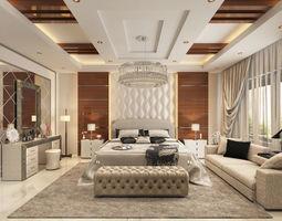 3D model interior Master Bedroom