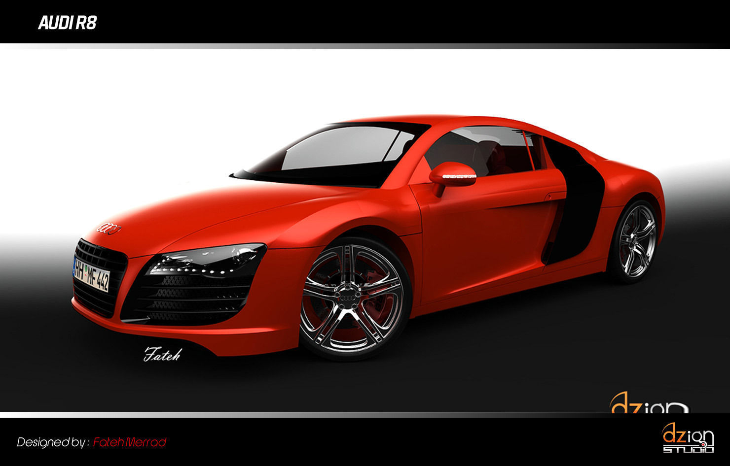 audi r8 free 3d model stl sldprt sldasm slddrw. Black Bedroom Furniture Sets. Home Design Ideas