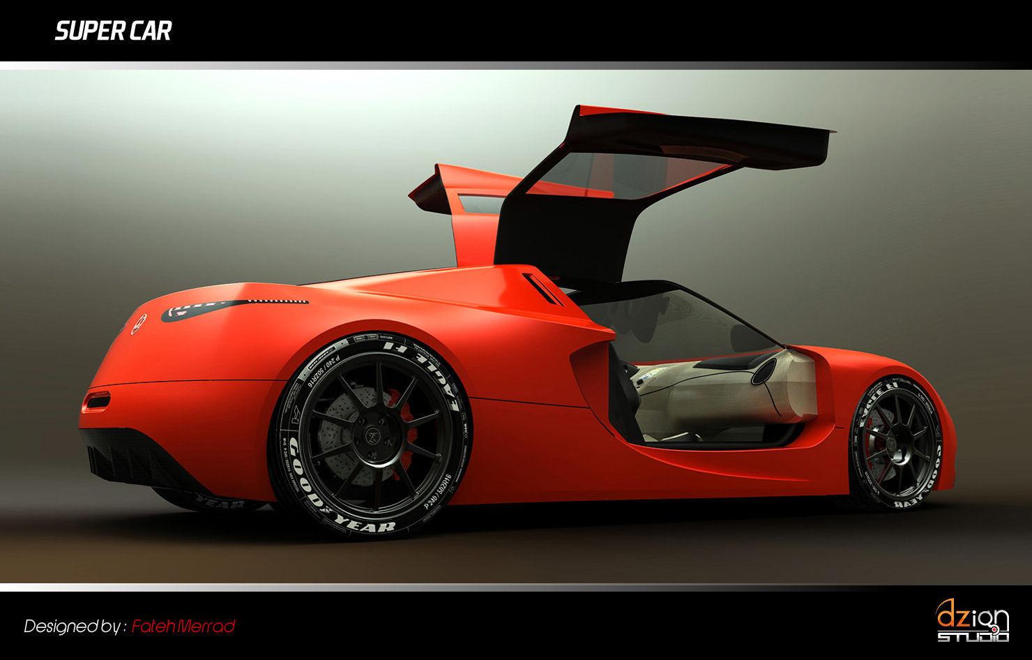 Super Car Free 3d Model Sldprt Sldasm Slddrw Cgtrader Com