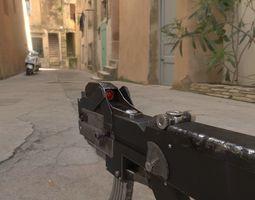 gun Machine Gun 3D model low-poly