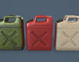 Gas can Common Enviroment Assets low-poly