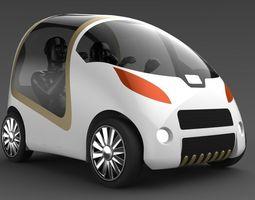 Electric car model 3