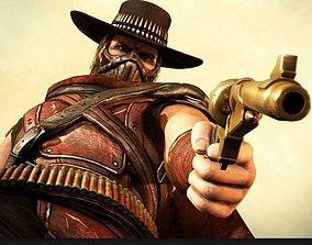 3D printable model Erron Black Gun Mortal Kombat X
