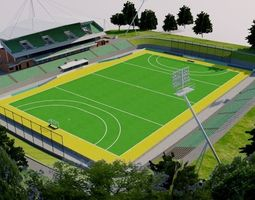 Sydney Olympic Park Hockey Centre 3D model