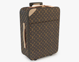 3D Louis Vuitton Pegase Monogram