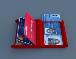 compact Compact plastic card holder - 3d printed