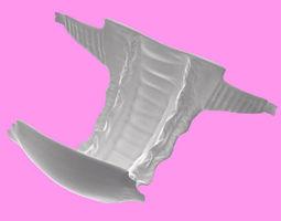 Diaper 3D model