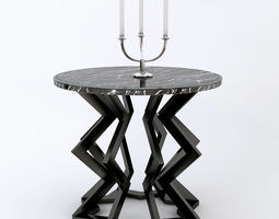 model 3D model Eichholtz Centre Table Crinkle