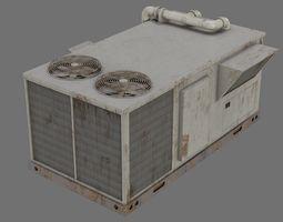 3D model Rooftop AC Unit 1B