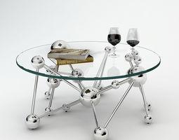 Eichholtz Coffee Table Galileo 3D model