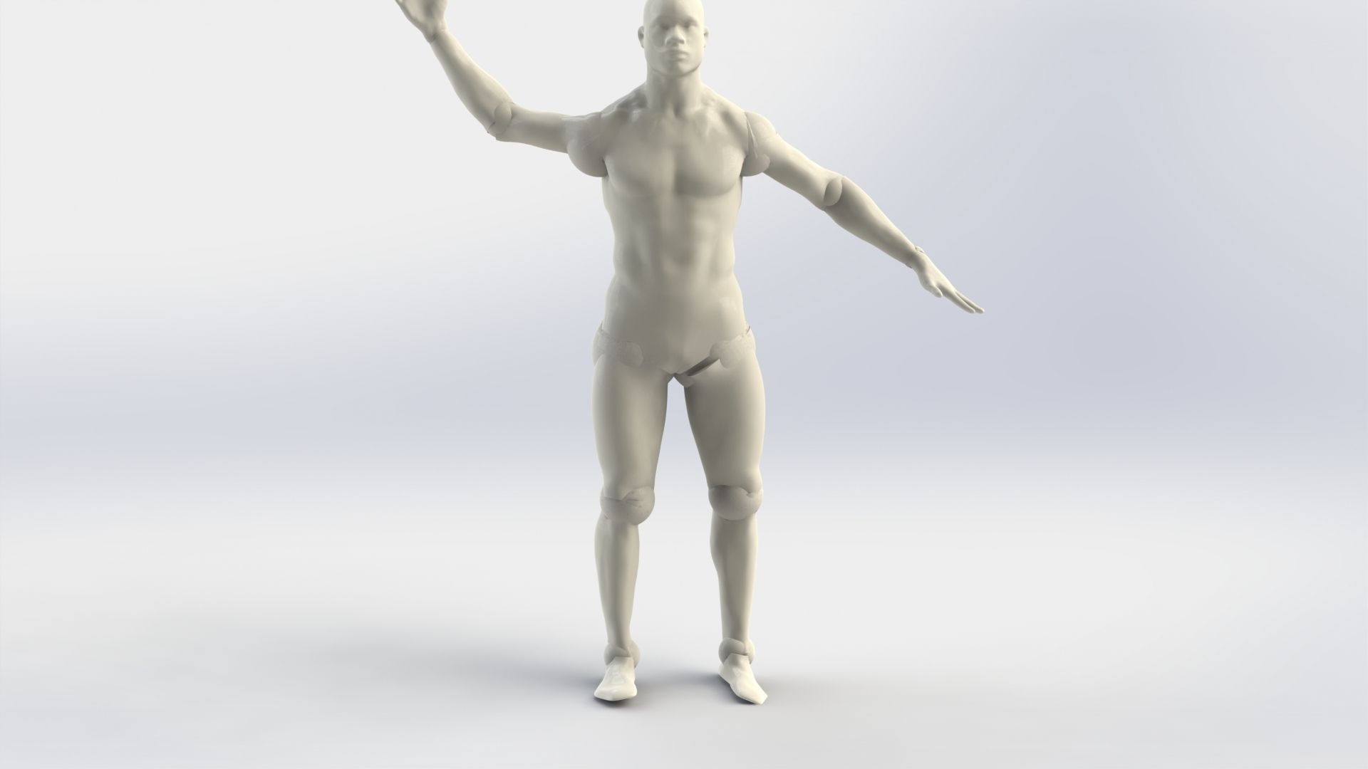Dummy human male 3D model | CGTrader