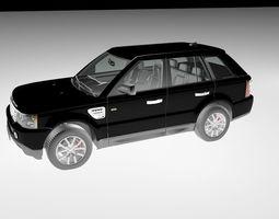 3D Range Rover Jeep