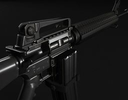 3D model M16 Assault Rifle