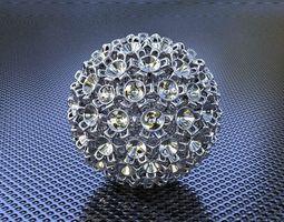 3d print model bro sphere structure x2