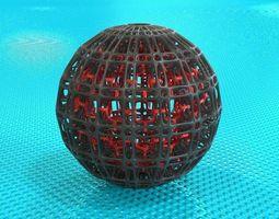 3d print model bro sphere structure x5