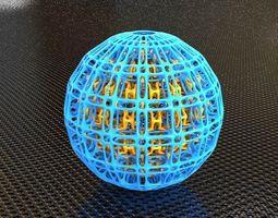 3d printable model bro sphere structure x7