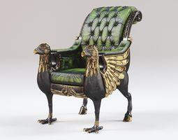 3D asset HippoGriffe Chair
