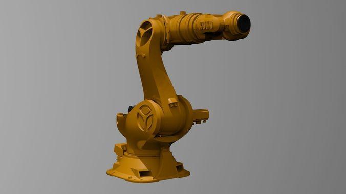 kuka kr 1000 titan 3d print compatible 3d model max obj mtl 3ds fbx stl dwg 1
