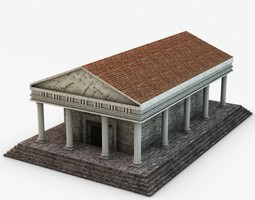 3D Classical temple