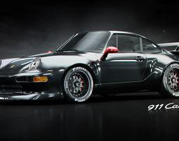 3d porsche 911 gt2