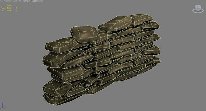 sandbag ww2 3d model low-poly max obj mtl tga 1