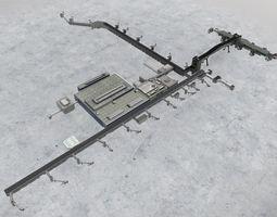 3D asset EGKK North Terminal