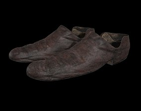 3D model Shoes Old Dirty