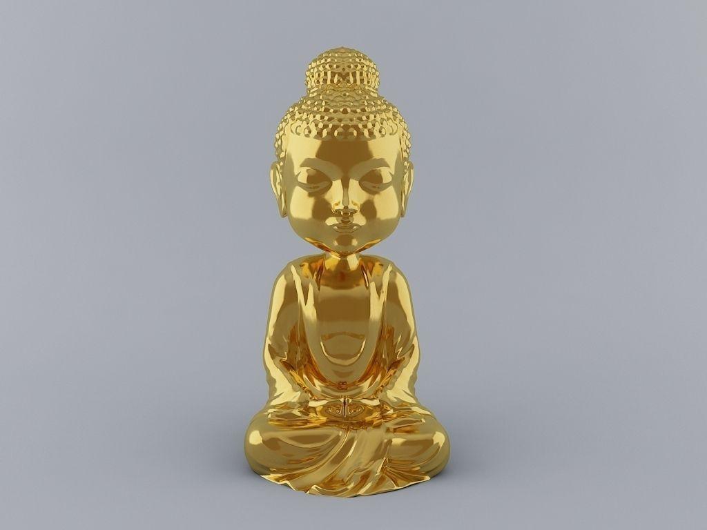 Little Buddha 3D Print Ready Model