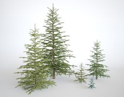 Pinetree Small 3D