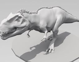 3D printable model Giganotosaurus High ploy