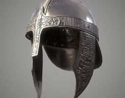 Game Ready Helmet D180612 3D asset