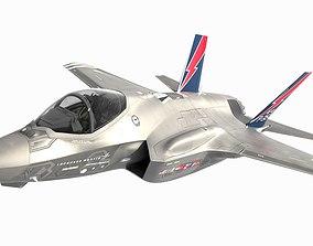 3D F-35 AF-1 with Pilot