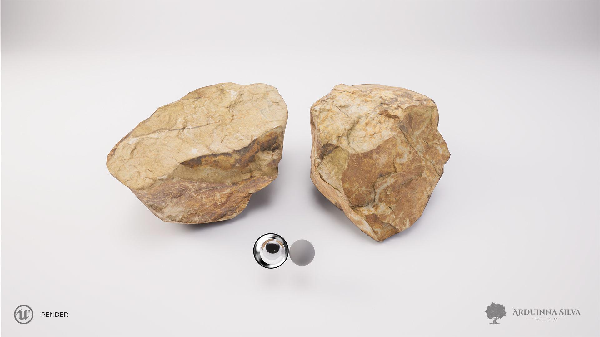 Stone 002 - Photogrammetry